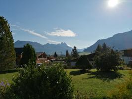 Blick nach Tannheim