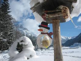Das Bäckergut im Winter