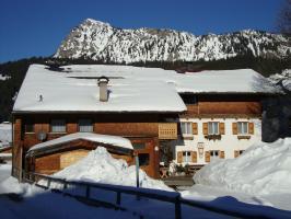 Bauernhaus Winter