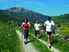 Nordic Walking im Tannheimer Tal