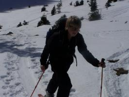 Beim Skitourengehen