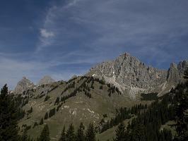 Gipfelpanorama von der Schneetalalm