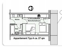 Wanderwochen - Appartement A
