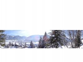 Blick nach Tannheim und Berg