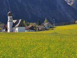Landhaus Christina Blick zur Mariahilf Kapelle