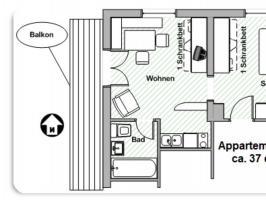 Wanderwochen - Appartement B