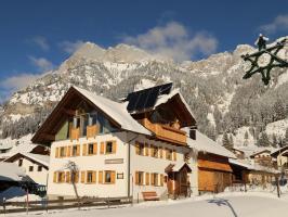 Ferienhaus Ried im Winter