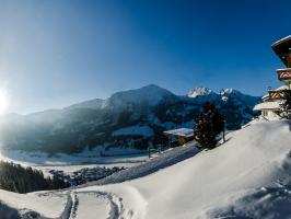 Ausblick vom Berghotel Zugspitzblick